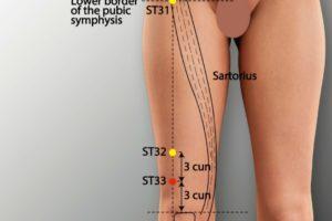 ST 33-Yinshi acupoint